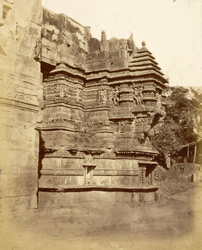 Part of the Kali Temple from the entrance to the Hira Gate, Dabhoi